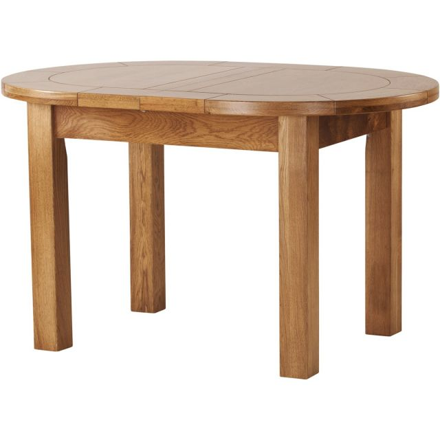 Our Furniture Normandy SMALL D-END EXTENDING TABLE