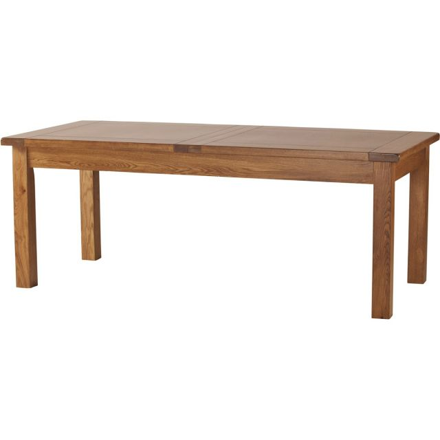 "Our Furniture Normandy 6'8"" EXTENDING TABLE (2 LEAF)"