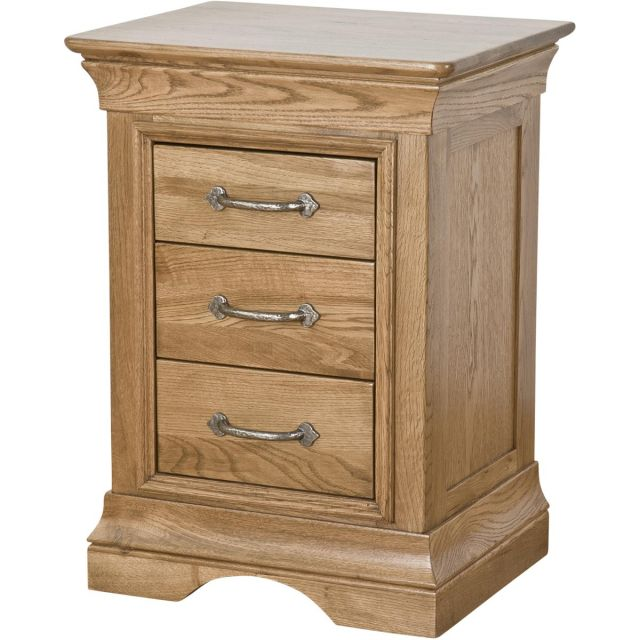 Our Furniture Seville 3 DRAWER BEDSIDE