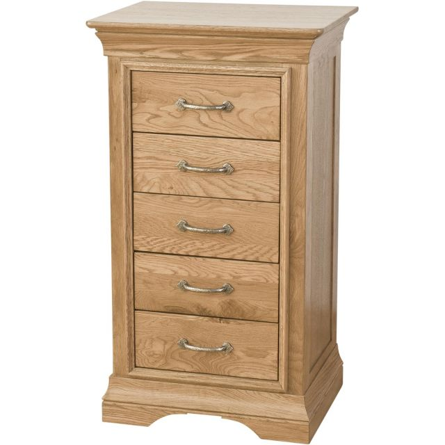 Our Furniture Seville 5 DRAWER WELLINGTON CHEST