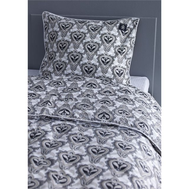 Grand Design Paisley Black Duvet Cover