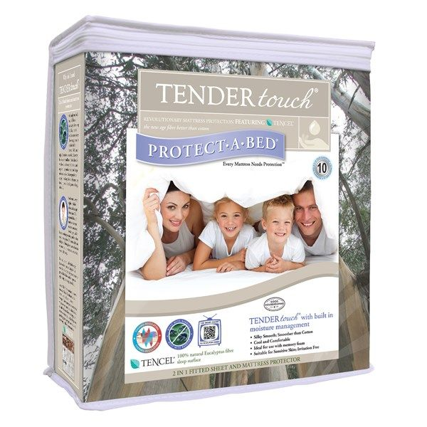 Protect-A-Bed Tendertouch Waterproof Mattress Protector