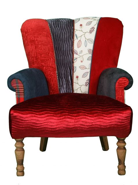 Quirky Harlequin Chair 388