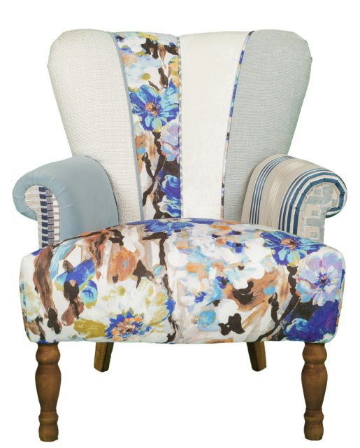 Quirky Harlequin Chair 412