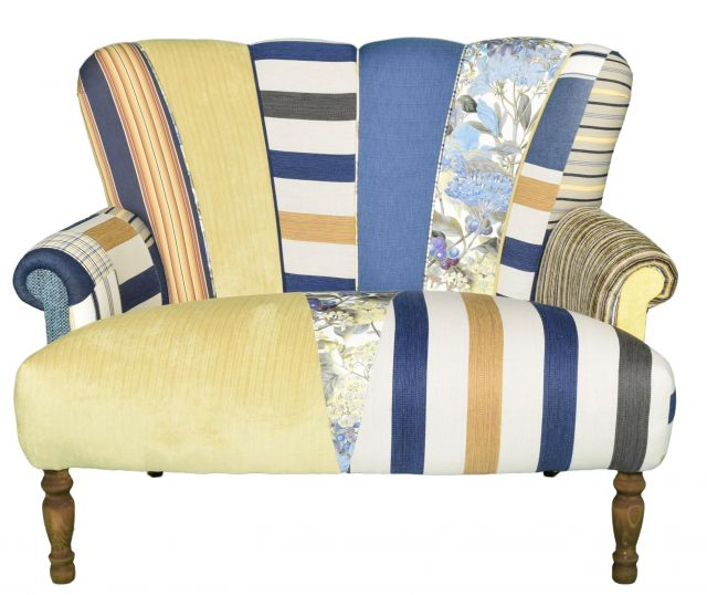 Quirky Harlequin Love Seat 18