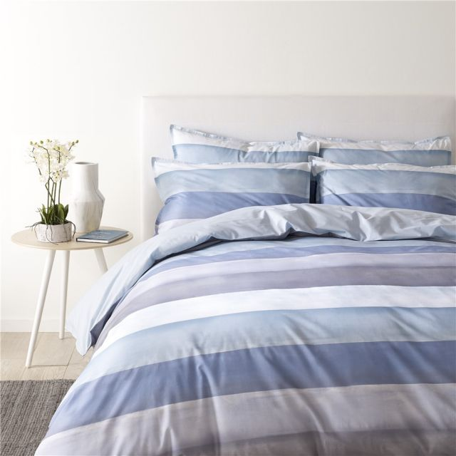 Jigsaw Water Stripe Duvet Cover