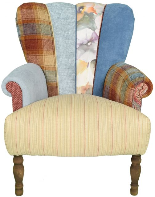 Quirky Harlequin Chair 504