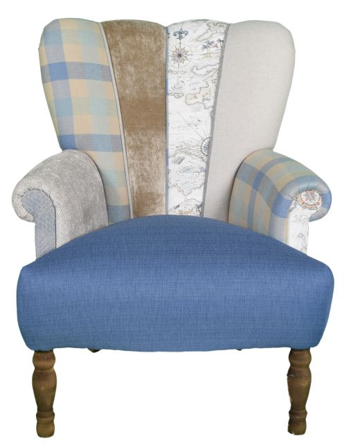 Quirky Harlequin Chair 511