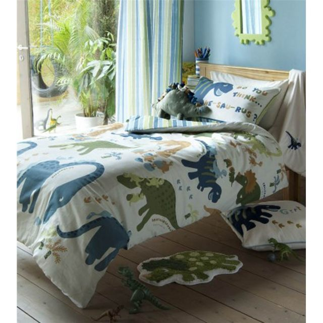 Catherine Lansfield Dino Single Duvet Set
