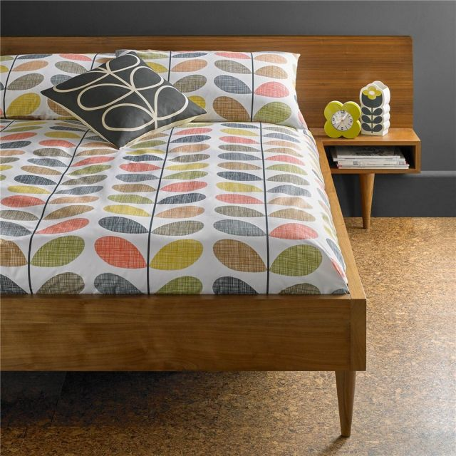 Orla Kiely Scribble Stem Standard Pillowcase Pair Multi