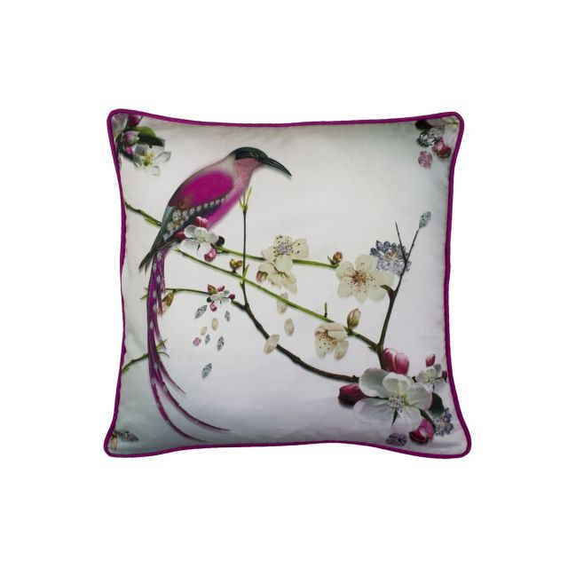 Ted Baker Flight Of The Orient Feather Filled Cushion