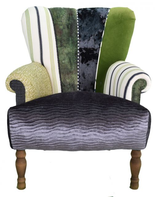 Quirky Harlequin Chair 536
