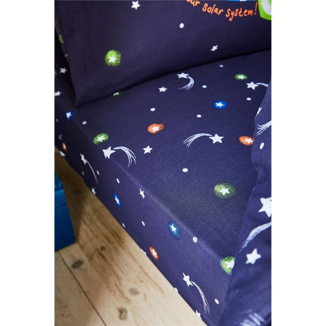 Catherine Lansfield Happy Space Fitted Sheet