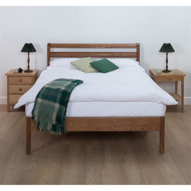 Cotswold Caners Notgrove 318H Bedstead with Horizontal Rails LFE