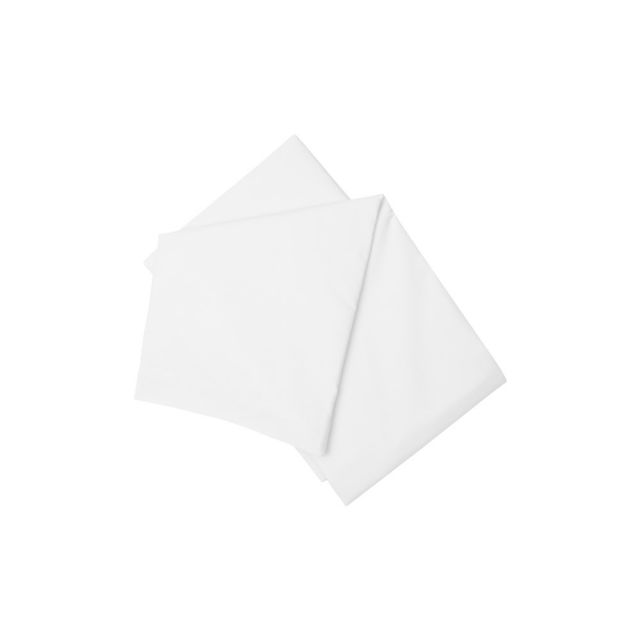 Belledorm 200TC Cotton/Polyester White Flat Sheet