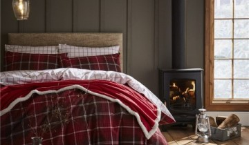 Catherine Lansfield Brushed Tartan Check