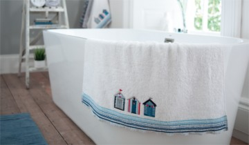Lobster Creek Beach Huts Towel Collection