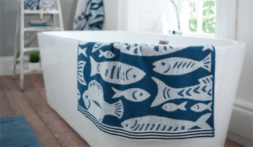 Lobster Creek Fishes Towel Collection