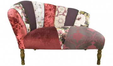 Quirky Harlequin Chaise Lounge
