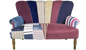 Quirky Harlequin Extra Love Seat