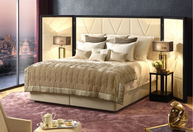 World's most luxurious bed on display at Kingsbridge and Honiton Peter Betteridge stores