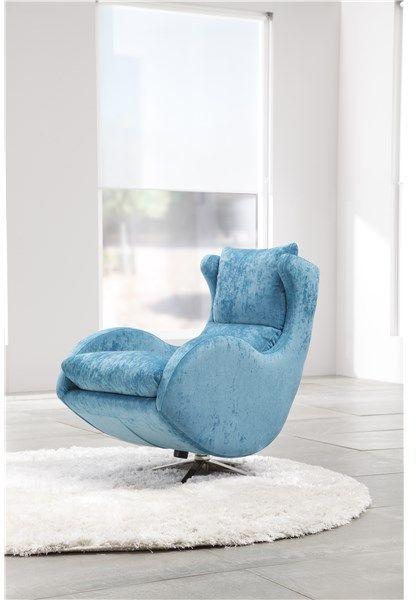 fama lenny swivel rocker chair in dalmata leather chairs