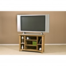Our Furniture Carvalho CORNER VIDEO UNIT