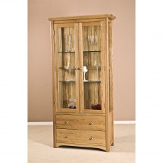 Our Furniture Carvalho Glass Display Cabinet