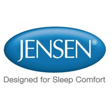 Jensen Sheets For Toppers 100% Cotton Fitted Sheet
