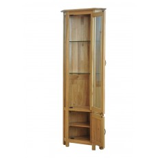 Our Furniture Cortona CORNER DISPLAY CABINET