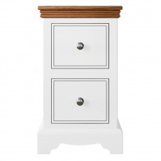 TCBC Inspiration Bedroom Small 2 Drawer Bedside