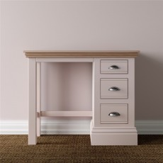 TCBC New England Bedroom Single Pedestal Dressing Table