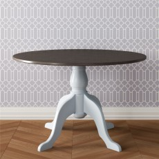 "TCBC New England Living & Dining 48"" Round Farmhouse Table"