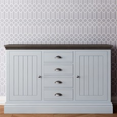 TCBC New England Living & Dining Medium Centre Drawer Sideboard