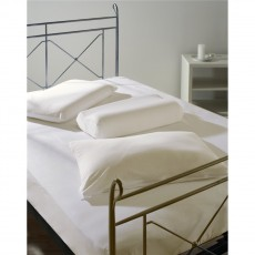 Belledorm Memory Foam Bedlinen Ivory Fitted Sheet 15-25 cm Deep