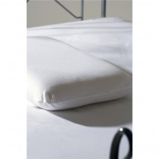 Belledorm Memory Foam Bedlinen White Pillowcase Pair