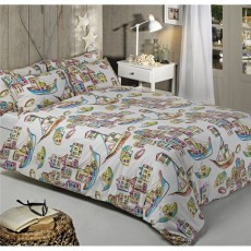 Driftwood Harbour Multi Coloured Harbour Duvet Set