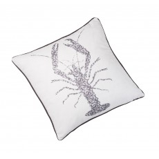 Peter Betteridge Accessories Soft Furnishings Lobster Cushion Grey