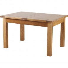 "Our Furniture Normandy 4'6"" EXTENDING TABLE (2 LEAF)"