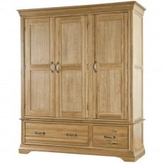 Our Furniture Seville TRIPLE WARDROBE WITH DRAWERS