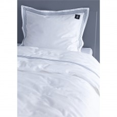 Grand Design Bedford White Duvet Cover