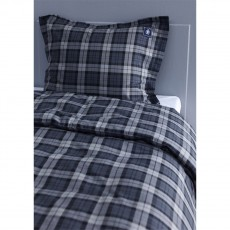 Grand Design Longwalk Grey Duvet Cover