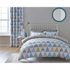 Catherine Lansfield Scandi Geo Multi Duvet Set