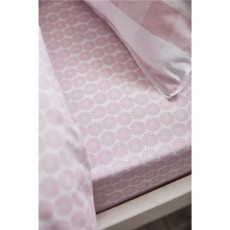 Bianca Ditsy Cotton Print Fitted Sheet