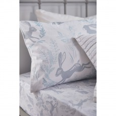 Bianca Hare Cotton Print Fitted Sheet