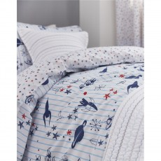 Bianca Space Cotton Print Duvet Set