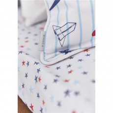 Bianca Star Cotton Print Fitted Sheet