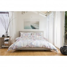 Lobster Creek Beach Huts Duvet Set