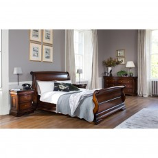 Baker Furniture Francois Bedstead High Footboard