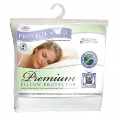 Protect-A-Bed Premium Waterproof Pillow Protector (Pair)
